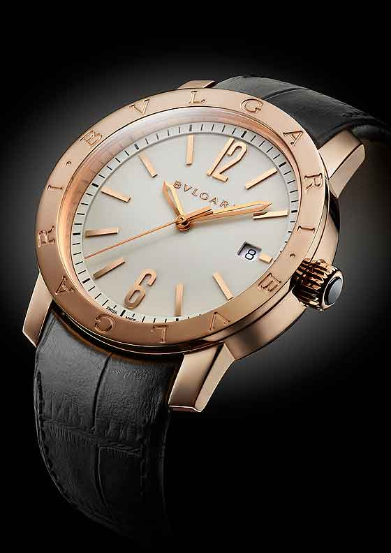 Bulgari Bulgari Rose Gold case