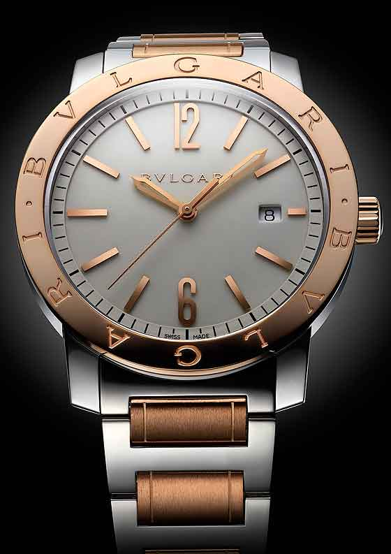 Bulgari_Bulgari Bulgari two-tone steel and gold