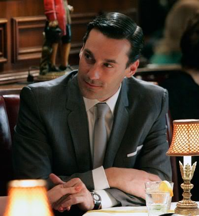 """5 watch brands we ve seen on """"mad men"""" › watchtime usa s no 1 don draper wearing a jaeger lecoultre memovox"""