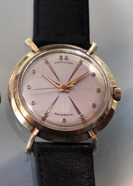 "5 watch brands we ve seen on ""mad men"" › watchtime usa s no 1 the vintage hamilton sputnik seen on mad men"