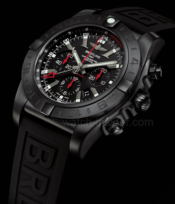 Breitling Chronomat GMT - Blacksteel