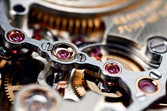 Lange Zeitwerk - movement - rubies