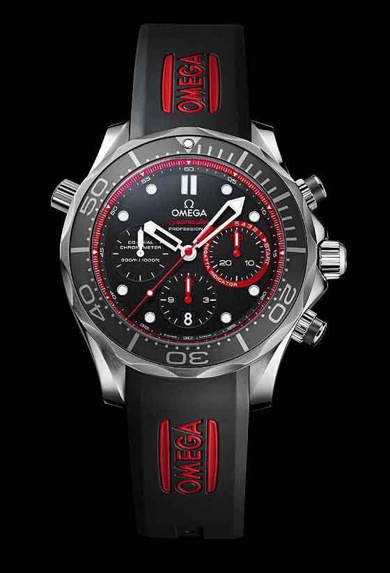 Omega Seamaster Diver ETNZ Limited Edition - front