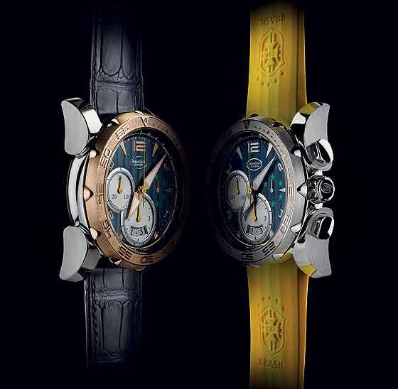 Parmigiani Pershing Chronograph 005 CBF - duo