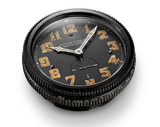 Zenith Historical Montre d'Aeronef Type 20 clock