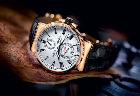 Sản xuất đồng hồ biển Ulysse Nardin