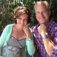 Lynda Wilson and husband Tracy Wilson of Vancouver, WA, having lunch in Marina del Rey, CA. Lynda is wearing a Rolex Datejust and Tracy is wearing a vintage Rolex GMT Master.