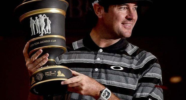 Bubba Watson wearing Richard Mille watch