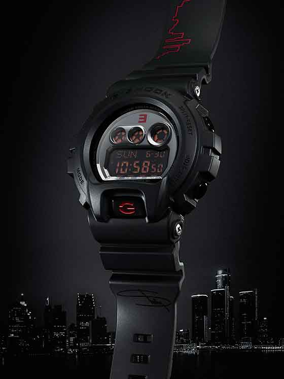 www.watchtime.com | scene  | A $1,000 G Shock? Casio Unveils That and More at 2013 Shock the World Event | Casio G Shock EMINEM 560