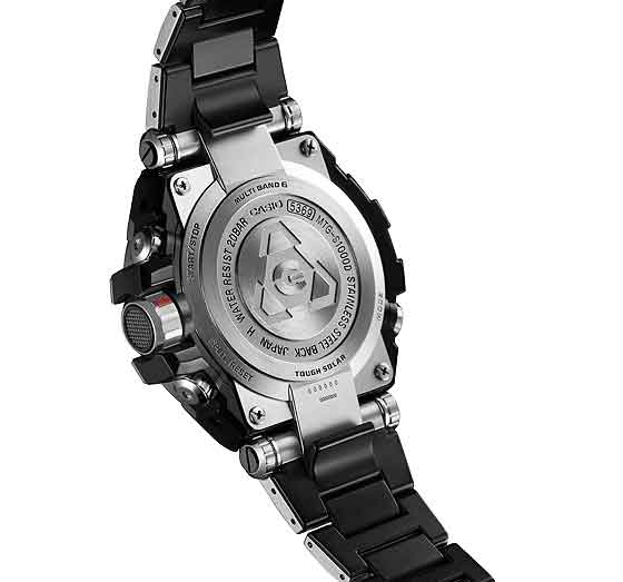 www.watchtime.com | scene  | A $1,000 G Shock? Casio Unveils That and More at 2013 Shock the World Event | Casio G Shock MT G back 560