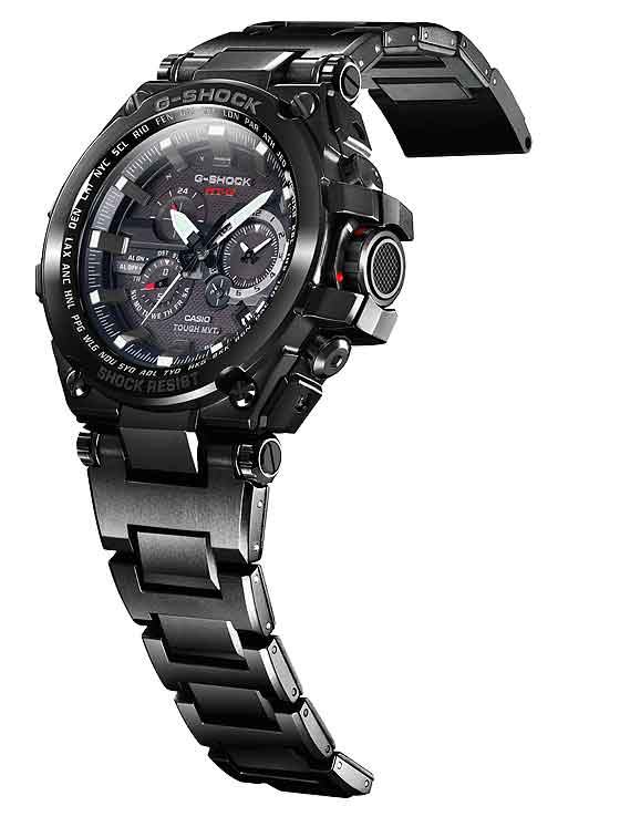 www.watchtime.com | scene  | A $1,000 G Shock? Casio Unveils That and More at 2013 Shock the World Event | Casio G Shock MT G black 560