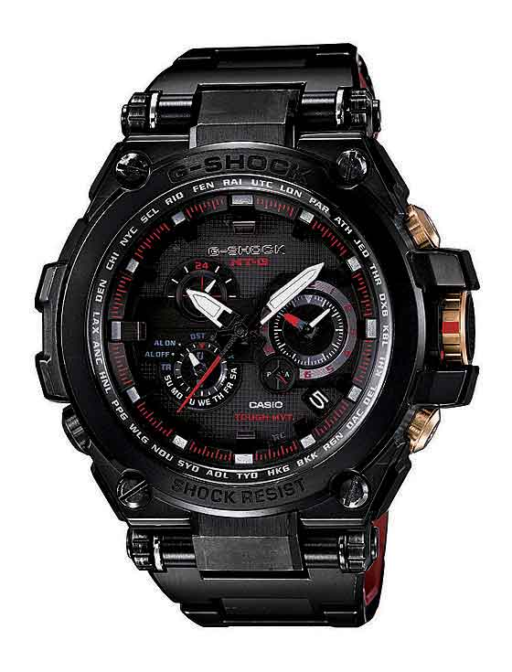 www.watchtime.com | scene  | A $1,000 G Shock? Casio Unveils That and More at 2013 Shock the World Event | Casio G Shock MT G blackgoldLE 560
