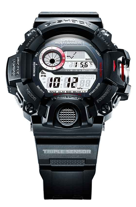 www.watchtime.com | scene  | A $1,000 G Shock? Casio Unveils That and More at 2013 Shock the World Event | Casio G Shock Rangeman 560