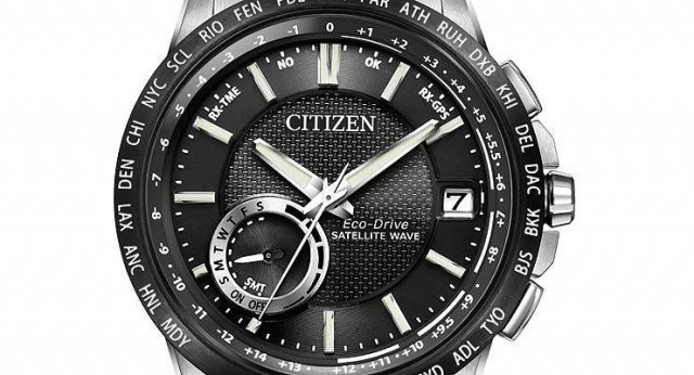 Citizen Eco-Drive Satellite Wave GPS