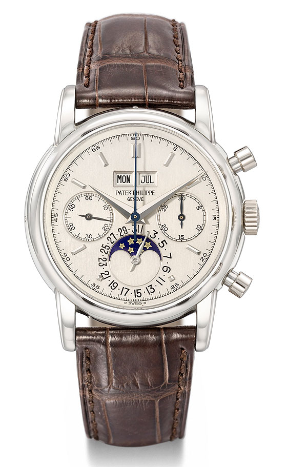 Patek Philippe Ref. 2499/100 from the personal collection of Eric Clapton