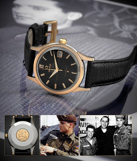 Elvis Presley's Omega Constellation Calendar