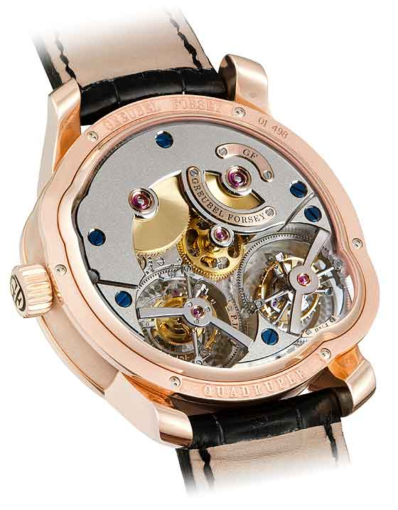 www.watchtime.com | watches  | Whirlwind Romance: Three New Watches with Multiple Tourbillons (Video) | Greubel Forsey QuadrupleTourb Secret back 560