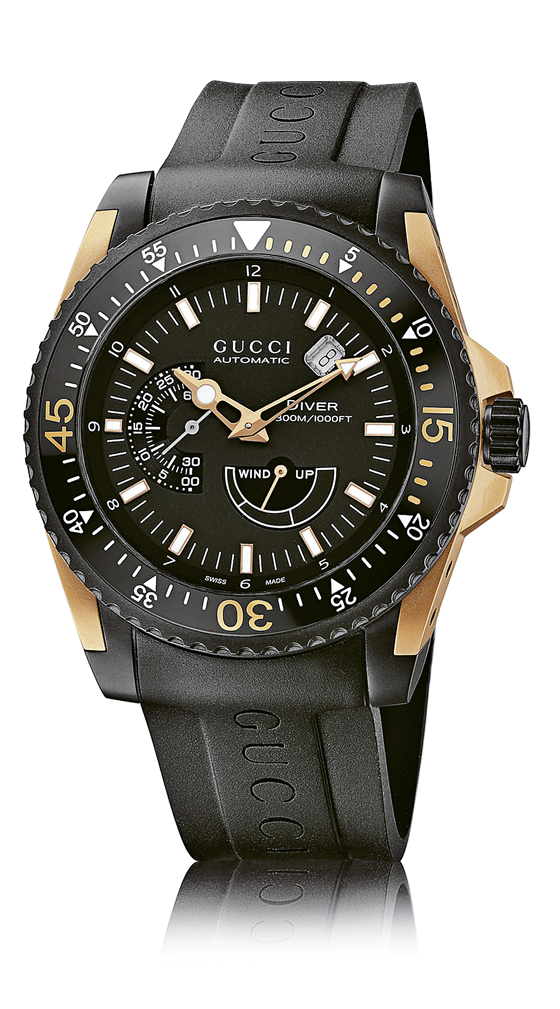 www.watchtime.com | industry  | Gucci Takes the Plunge Into High Horology with New Gucci Dive Watch | Gucci Dive soldier 560