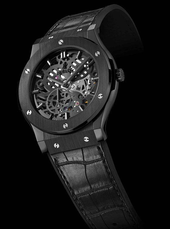 Hublot Classic Fusion Classico Ultra-Thin All Black