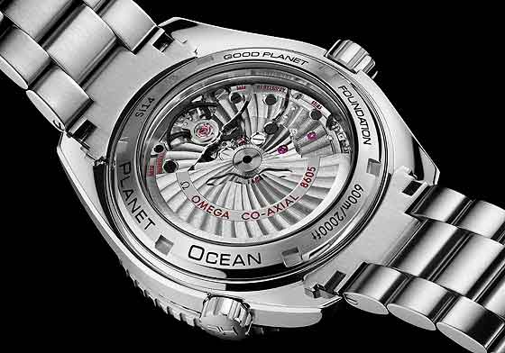 www.watchtime.com | watch to watch  | Omega Seamaster Planet Ocean 600M GoodPlanet | Omega Seamaster PO GoodPlanet back 560