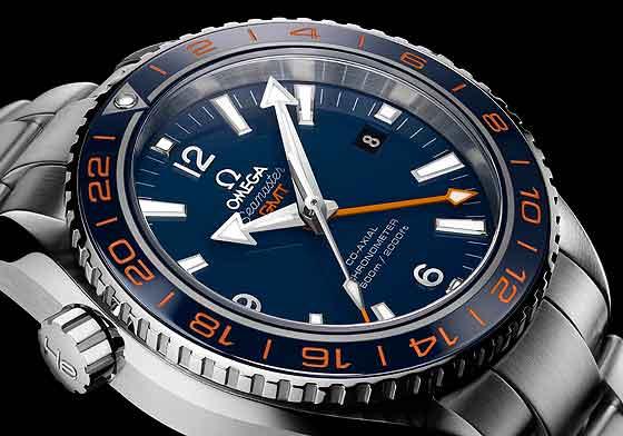 Omega Seamaster Planet Ocean 600M GoodPlanet - dial CU