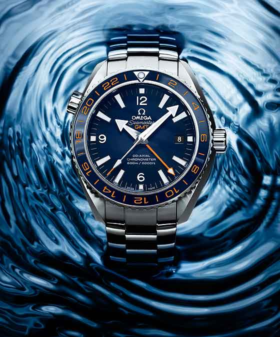 Omega Seamaster Planet Ocean 600M GoodPlanet - in water
