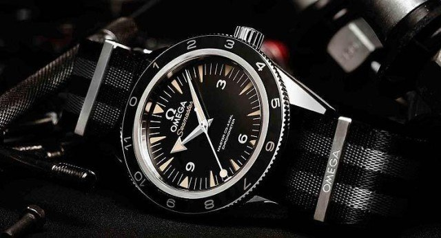 Omega Seamaster James Bond watch