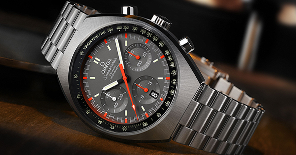 Omega Speedmaster Mark II slider