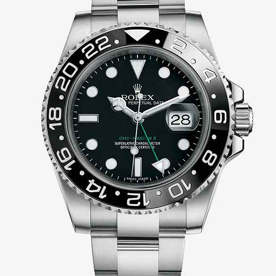 4caa9eb7bd1 Rolex GMT-Master II Reference 116710LN ...