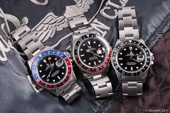 Rolex GMT Master 16710 - collection