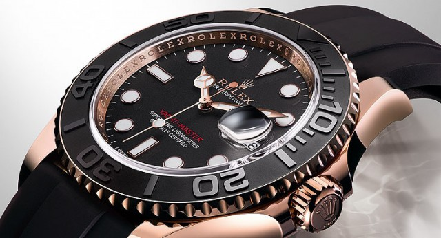 Rolex Yacht Master everose gold