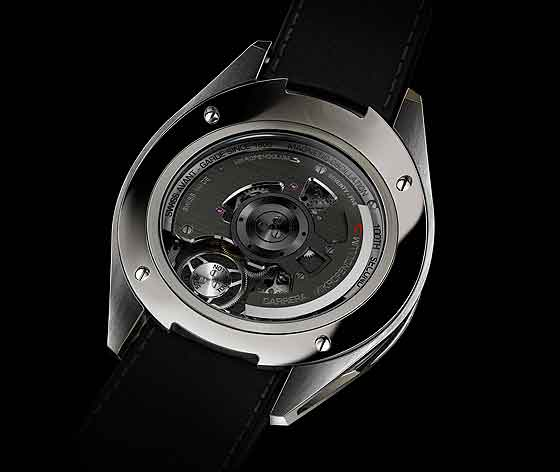 www.watchtime.com | watches  | Whirlwind Romance: Three New Watches with Multiple Tourbillons (Video) | TAG Heuer Carrera MikroPendulumS back 560