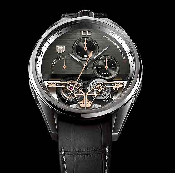TAG Heuer Carrera MikroPendulumS - front