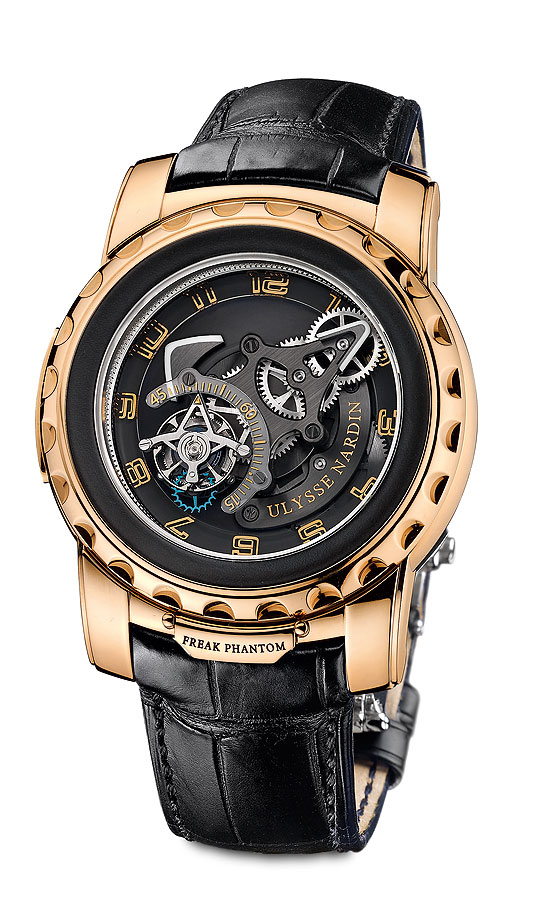 www.watchtime.com | technology  | The Phantom: Ulysse Nardins Newest Freak | Ulysse Nardin Freak Phantom front 560