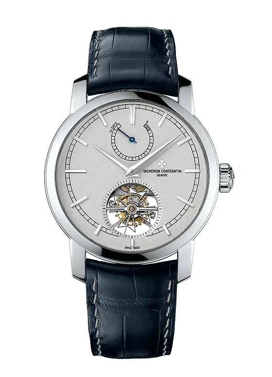 www.watchtime.com | industry  | Vacheron Constantin Adds 14 Day Tourbillon to its Platinum Collection | VC Platinum 14 Day Tourbillon front 560