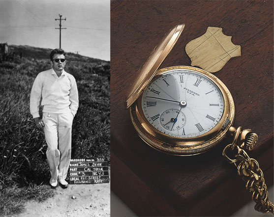 James Dean's Elgin pocketwatch