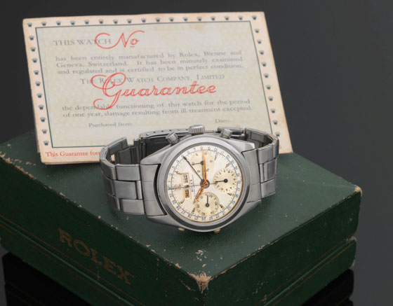 Rolex ref. 6036, owned by Jean-Claude Killy