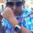 Young watch fan Omid Shirzadi in Toronto, Ontario, wears a Richard Mille RM10 in rose gold.