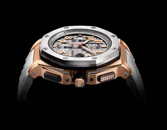 5 Things You Should Know About the Audemars Piguet LeBron James Royal Oak Offshore - chrono pusherLE - side
