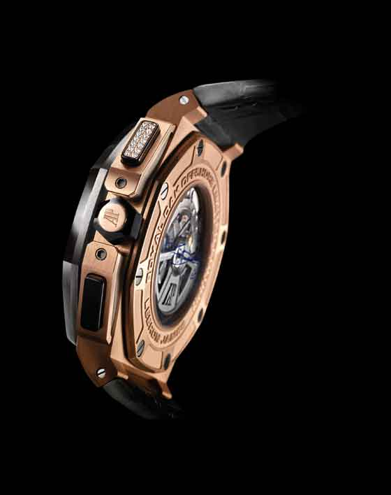 e4b5f026571e 5 Things You Should Know About the Audemars Piguet LeBron James Royal Oak  Offshore - angle