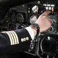 Bell & Ross BR 126 Falcon - in cockpit