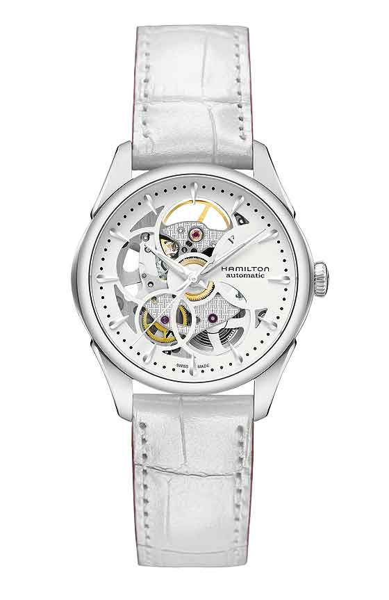 Hamilton Jazzmaster Viewmatic Skeleton - Ladies