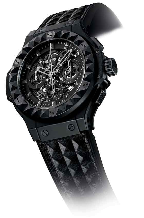 Hublot Big Bang Depeche Mode - hoek