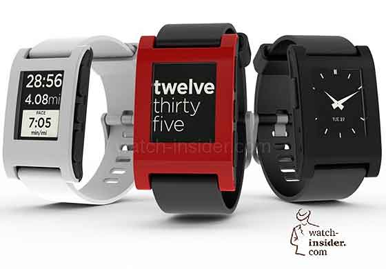 Pebble E-Paper smartwatches