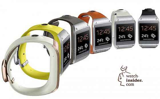 Samsung Galaxy Gear watches