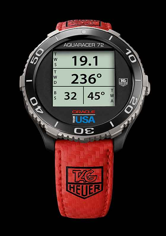 TAG Heuer Aquaracer Oracle Team USA smartwatch