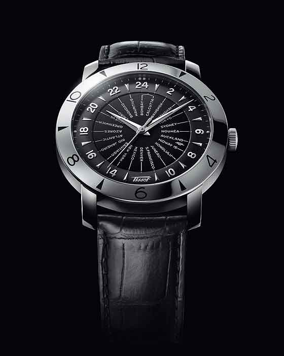 www.watchtime.com | watch to watch  | Tissot Heritage Navigator 160th Anniversary | Tissot Heritage Navigator 160 blackdial 560