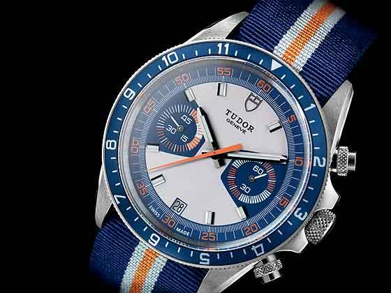 Tudor Chrono Blue - strap - front