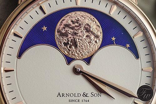 Arnold & Son HM Perpetual Moon - dial cu