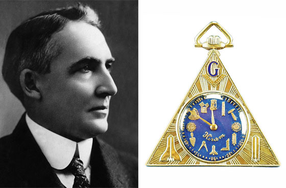 Warren G. Harding and his Masonic watch